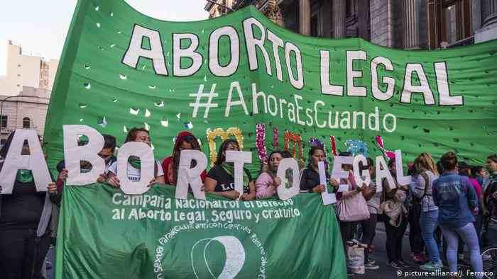 ABORTO LEGAL GANA BATALLA EN ARGENTINA