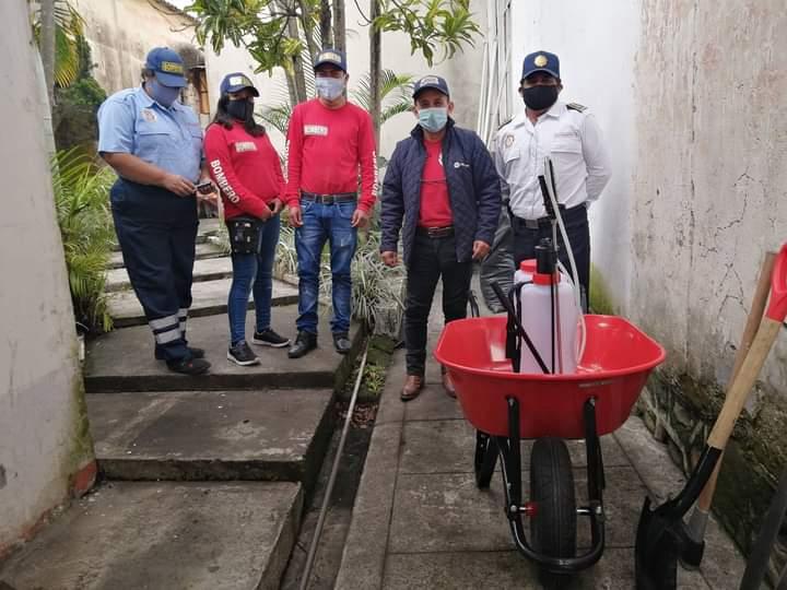 BOMBEROS DE FORTÍN AC APOYARÁN A AGRUPACIONES DE LA ZONA
