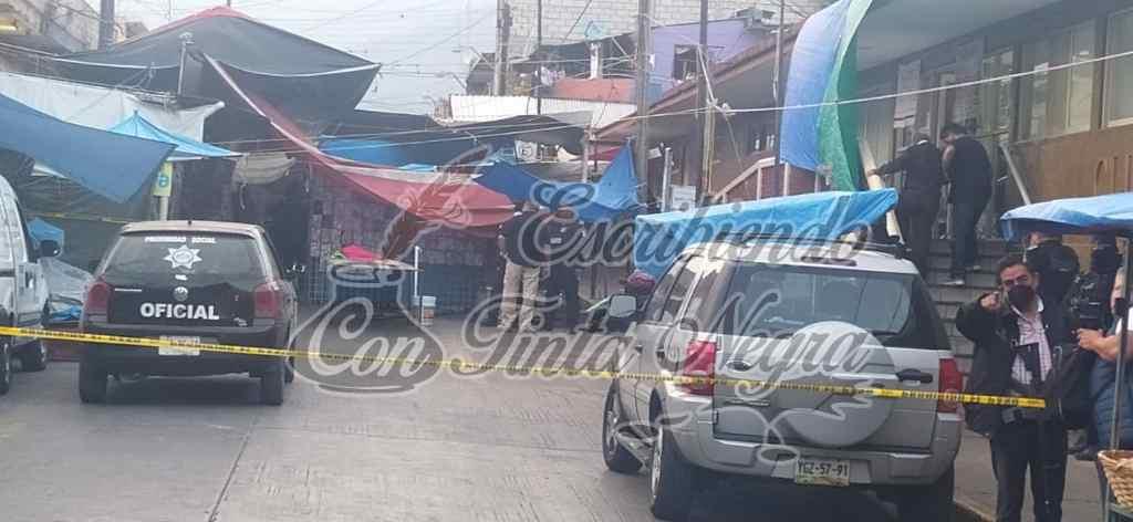 EJECUTAN A COMERCIANTE EN EL MERCADO DE MENDOZA
