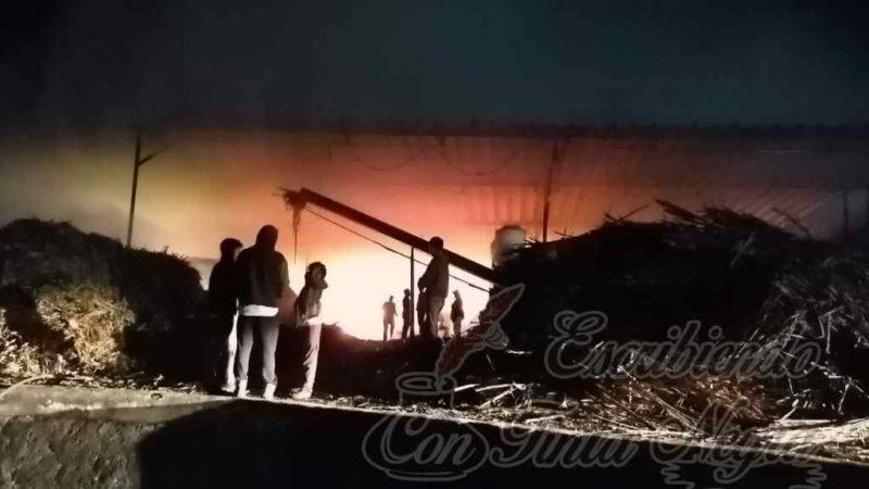 ARDE TRAPICHE EN HUATUSCO