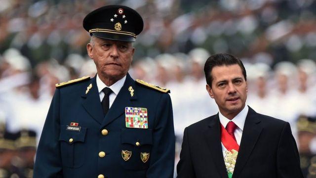 ESTADOS UNIDOS PODRÍA REINICIAR PROCESO CONTRA EL GENERAL SALVADOR CIENFUEGOS