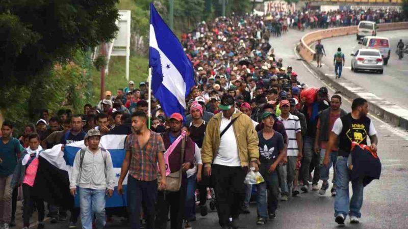 PIDE MÉXICO A HONDURAS ATENDER CAUSAS DE CARAVANAS MIGRANTES