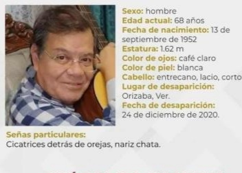 MÉDICO CUMPLE DOS MESES DESAPARECIDO