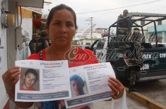 SECUESTRAN A MADRE DE DOS DESAPARECIDOS