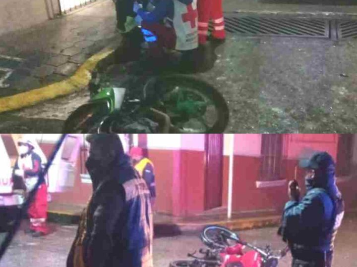 DOBLE ACCIDENTE DE MOTOS EN HUATUSCO