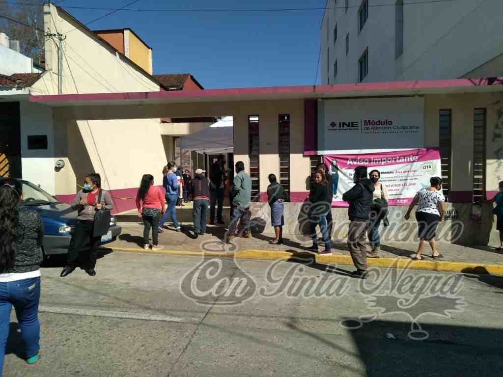 CIERRA INE TRÁMITES DE INSCRIPCIÓN Y CAMBIOS DE DOMICILIO