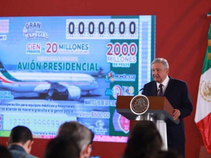 AMLO VUELVE A OFRECER EL AVIÓN PRESIDENCIAL