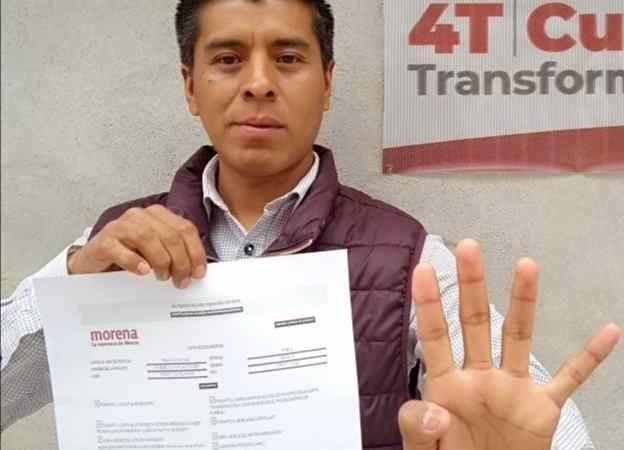 BUSCA DAMIÁN SÁNCHEZ CONTRERAS CANDIDATURA A ALCALDÍA DE CALCAHUALCO