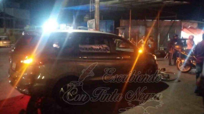 CHOCA DIPUTADO FEDERAL Y HUYE DEL LUGAR