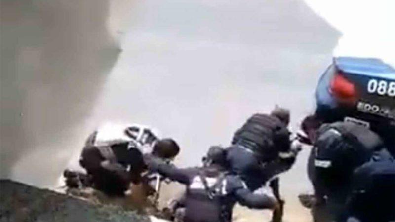 SE DIFUNDE VIDEO DE EMBOSCADA A ESTATALES