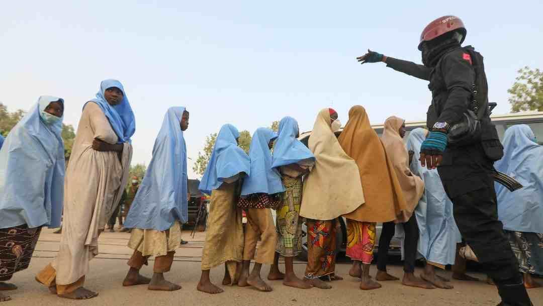 LIBERAN A LAS ALUMNAS SECUESTRADAS EN UN COLEGIO DE NIGERIA