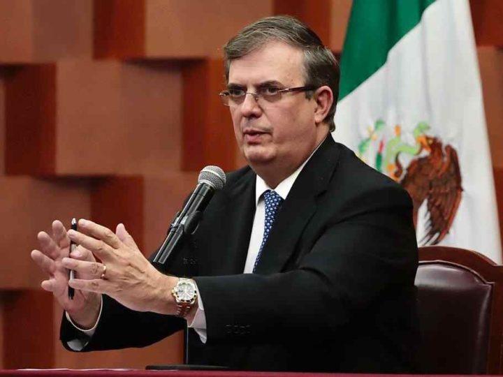 MÉXICO PRESENTARÁ NUEVO PLAN DE SEGURIDAD A EEUU, ANUNCIA EBRARD
