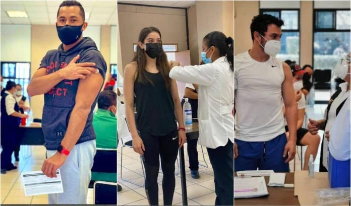 APLICAN VACUNA SPUTNIK V A ATLETAS MEXICANOS QUE IRÁN A LOS JUEGOS OLÍMPICOS