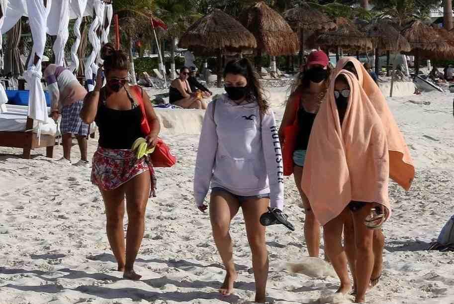 ALERTAN POR NUEVA OLA DE COVID-19 EN MÉXICO DURANTE SEMANA SANTA