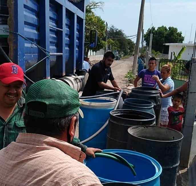 LE NIEGA CONAGUA EL VITAL LÍQUIDO A COMUNIDADES