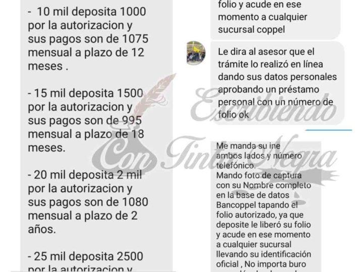 """DENUNCIAN FRAUDE CON """"PRESTAMOS"""" DE BANCOPPEL"""