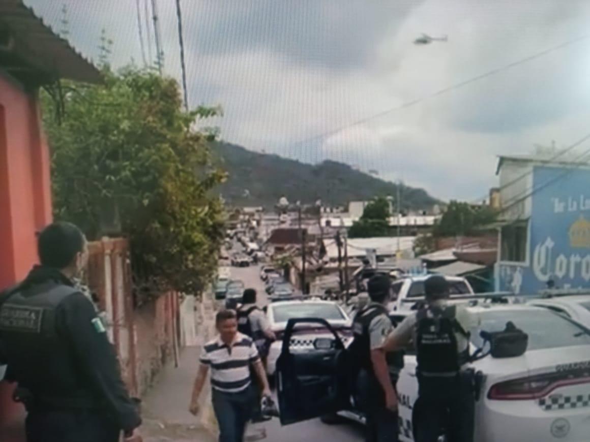 MEGA OPERATIVO EN MATATENATITO