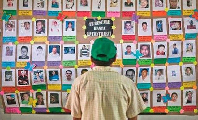 RECORTAN PRESUPUESTO PARA BÚSQUEDA DE DESAPARECIDOS