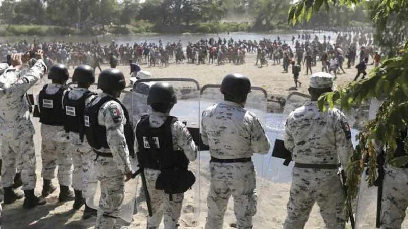 MÉXICO MANTENDRÁ DESPLIEGUE DE FUERZAS FEDERALES EN ZONA FRONTERIZA: SER