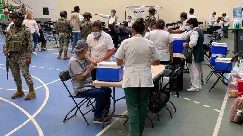 CONFIRMAN APLICACIÓN DE SEGUNDA DOSIS DE VACUNA CONTRA COVID EN FORTÍN