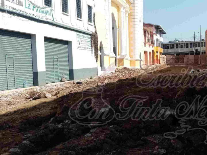 AVANZA REHABILITACIÓN DE EXPLANADA DE SANTA CECILIA