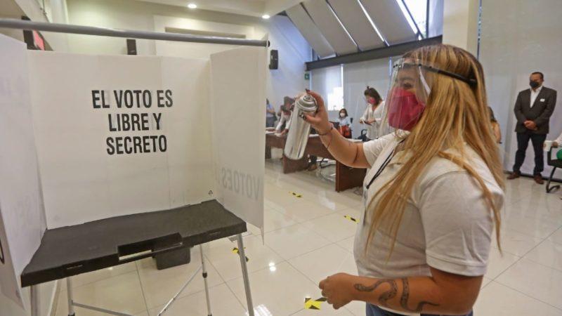 JORNADA ELECTORAL GARANTIZARÁ TODAS LAS CONDICIONES SANITARIAS