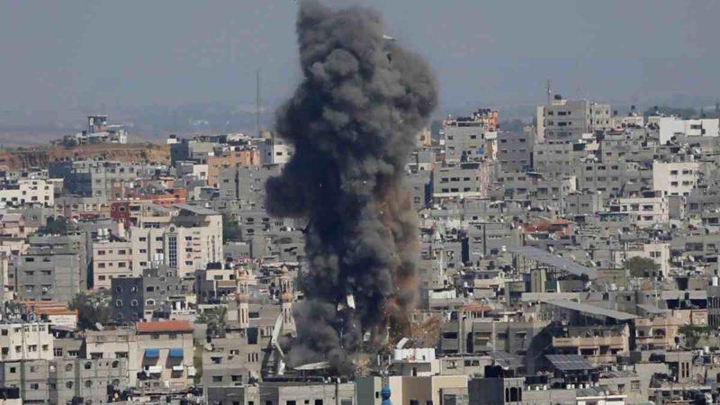 SOLDADOS ISRAELÍES ENTRAN A LA FRANJA DE GAZA PARA COMBATIR A HAMÁS