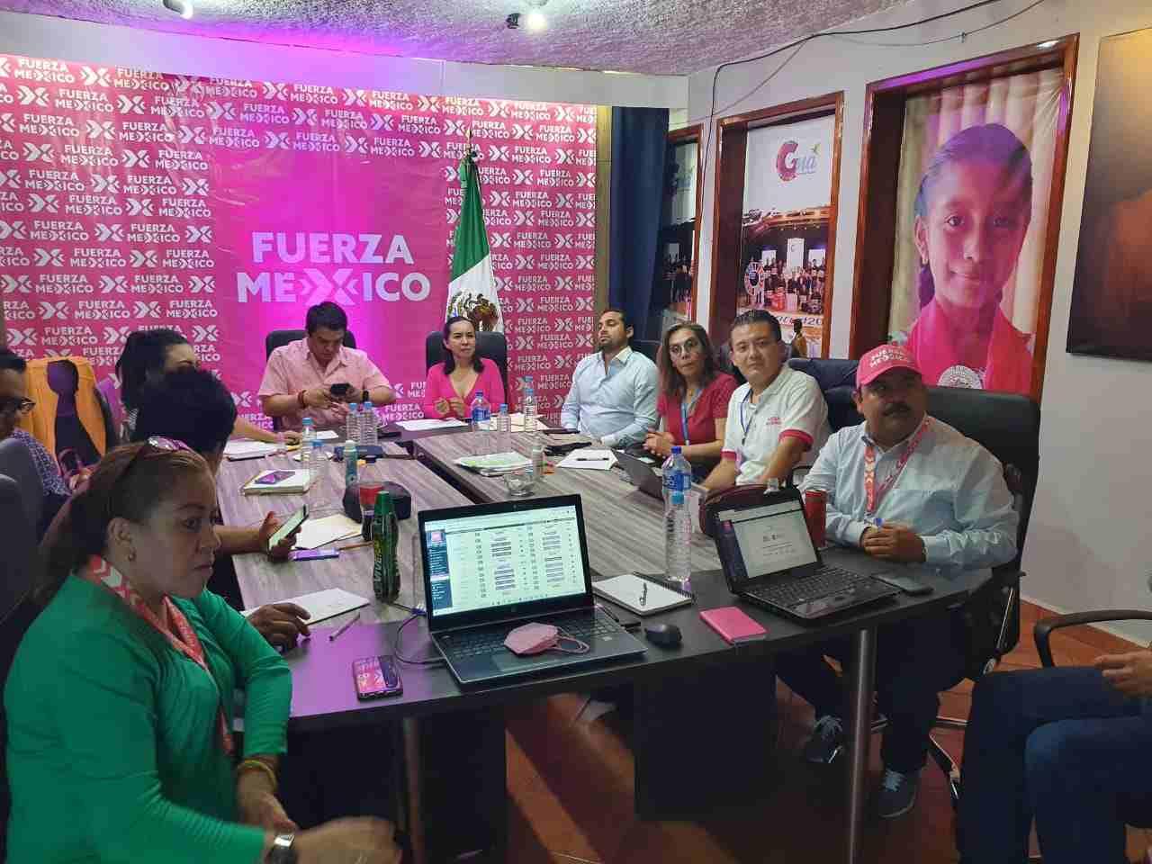 FUERZA POR MÉXICO PROTESTA POR CANCELACIÓN DE CANDIDATURAS