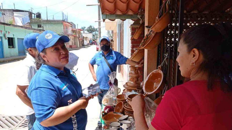 ANABEL DOMÍNGUEZ VISTE A IXHUATLÁN DE AZUL