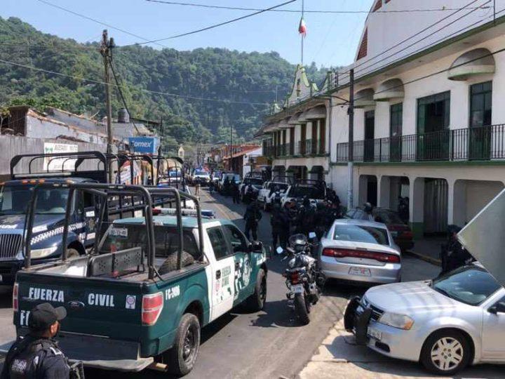 SSP TOMA CONTROL DE SEGURIDAD EN JILOTEPEC