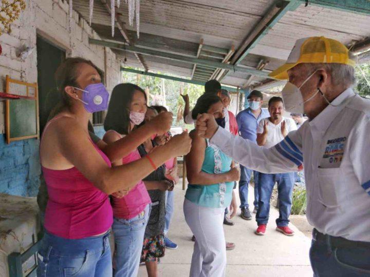 GUILLERMO RIVAS SE COPROMETE A GENERAR EMPLEO PARA LA MUJER