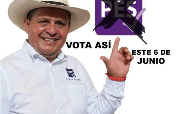 COMANDO ARMADO GOLPEA A CANDIDATO DEL PES A LA ALCALDÍA DE TEZONAPA