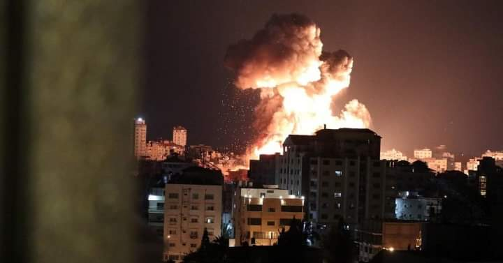 INICIA ISRAEL ATAQUES AÉREOS CONTRA LA FRANJA DE GAZA
