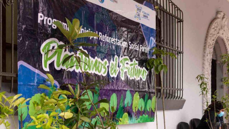 """PONEN EN MARCHA CAMPAÑA """"PLANTEMOS EL FUTURO"""""""