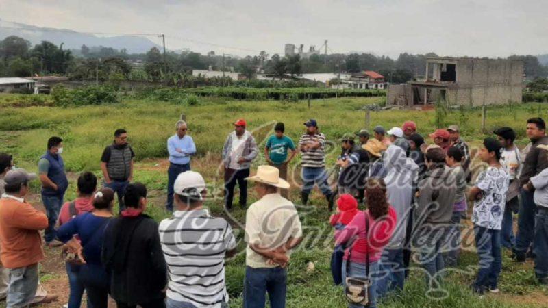 ALCALDE ELECTO DE CHOCAMÁN BUSCA APOYOS PARA RECUPERAR CULTIVOS