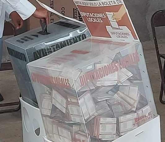 VOTACIÓN EN VERACRUZ REGISTRÓ 60 POR CIENTO DE PARTICIPACIÓN